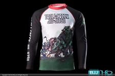 Today on BJJHQ Troll Creek Rashguard - $35